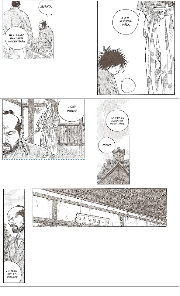 Manga: Vagabond, vol. 9, cap. 83, pág. 133.